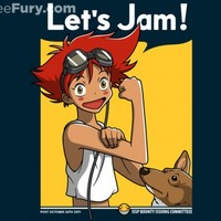 Jamming with Edward - Gallery | TeeFury