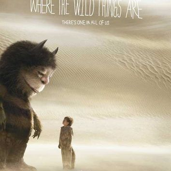 Where the Wild Things Are 11x17 Movie Poster (2009)