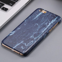 Vinatge Black Marble Stone iPhone 5se 5s 6 6s Plus Case Cover + Nice Gift Box 267