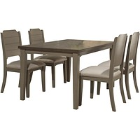 Hillsdale Clarion - Dining Sets - Distressed Gray