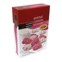 Market Pantry® Pink and White Fudge Animal Cookies 10-oz.