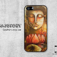 Buddha iPhone 5 Case, iPhone 5 Cover, Case for iPhone 5, iPhone Hard Case