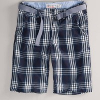 AE Longer Length Plaid Short   American Eagle Outfitters