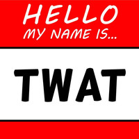 Hello My Name Is Twat T Shirt
