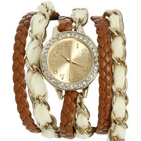 Chiffon Chain Wrap Watch | Shop Junior Clothing at Wet Seal