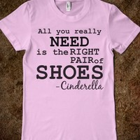All you need is shoes!