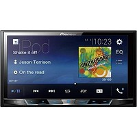 "Pioneer MVH-300EX 7"" Double-DIN In-Dash Digital Media & A-V Receiver with Bluetooth(R)"