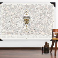 """The Magnificent Multitudes of Beer Poster 40"""" x60"""""""