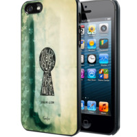 Coraline Keyhole Samsung Galaxy S3 S4 S5 Note 3 , iPhone 4 5 5c 6 Plus , iPod 4 5 case