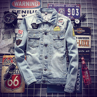 Mens Trendy Denim Jacket