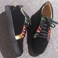 Christian Louboutin CL Low Style #2065 Sneakers Fashion Shoes Online
