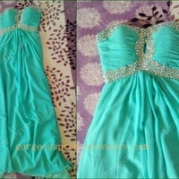 Glamorous Strapless Prom Dress/Graduation Dresses from Gorgeous prom