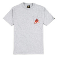 Benny Gold - Spacelab Heather Grey Pocket Tee