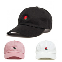 Brand cap Rose embroidery hat West bear Cap snapback dad cap designer hats I Feel Like 350 Wolves