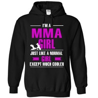 MMA girl is cooler