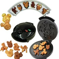 Disney Mickey &Gang 5 in 1 Tasty Baker Waffle Maker,Bakes Pancake,Muffins, breads, cakes, and brownies:Amazon:Kitchen & Dining