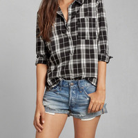 Plaid Pullover Shirt
