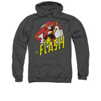 The Flash Runs Mens Pullover Hoodie