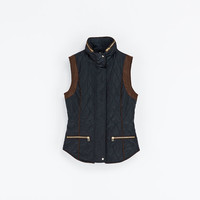 COMBINATION QUILTED WAISTCOAT