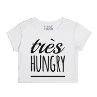 Très Hungry-Female Snow T-Shirt