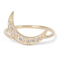 Catbird :: shop by category :: JEWELRY :: Crescent Moon Ring