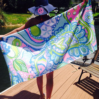 Lilly Pulitzer Inspired Beach Towels!