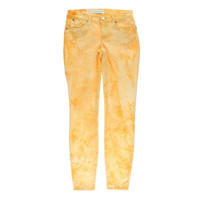 Henry & Belle Womens Tie-Dye Low-Rise Colored Skinny Jeans