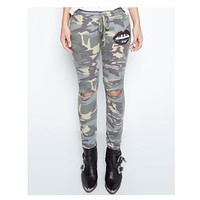 Sherri Jogger Sweat Pants in Vintage Camo