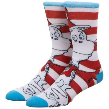 The Cat In The Hat Crew Sock