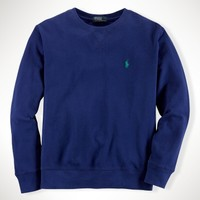 Cotton Long-Sleeved Crewneck