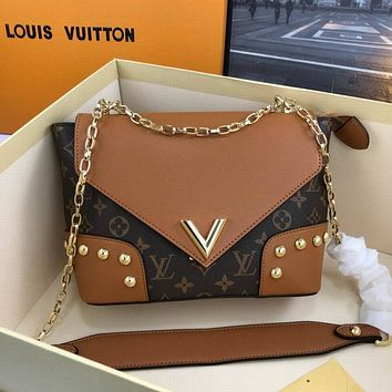 lv louis vuitton women leather shoulder bags satchel tote bag handbag shopping leather tote 169