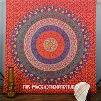Tapestry Wall Hanging, Hippie Tapestries, Indian Mandala Bed Coverlet, Wall Tapestries, Boho Bed Spread, Bohemian Tapestries, Dorm Tapestry