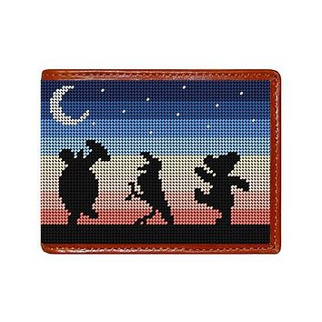 Grateful Dead Moondance Needlepoint Wallet by Smathers & Branson