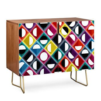 Sharon Turner diamond moon Credenza