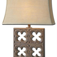 Table Lamp - Beige Shade