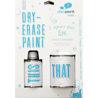 Shop IdeaPaint 8-5/16 Oz. White Interior High-Gloss Dry-Erase Paint (Covers 6 Sq. Ft.) at Lowes.com