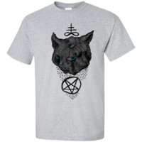 janus satan cat t- T-Shirt