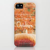 October iPhone & iPod Case by Olivia Joy StClaire