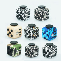 Brand New Style Color Fidget Cube Toys for Puzzles & Magic Pattern Gift Camouflage AntiStress