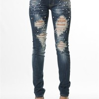 Celestial Sparkle Denim - Dark from Machine Jeans at Lucky 21 Lucky 21