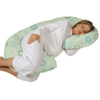 Leachco Snoogle Chic Total Body Pillow - Green