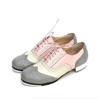 Genuine Leather Adults Children Men Women international Tap shoes Cow leather production Tap dance shoes scheduled special Hot