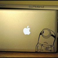 Minion : Apple Macbook Pro & Air LAPTOP Decal/Sticker
