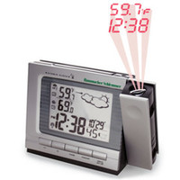 The Projection Alarm Clock and Weather Monitor