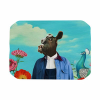"Natt ""Family Portrait N2"" Blue Cow Place Mat"