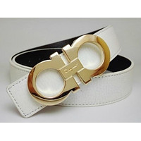 SALVATORE FERRAGAMO MEN WOMEN FAMOUS DESIGNER BELTS