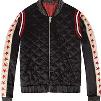 Embroidered Artwork Bomber Jacket by Scotch & Soda