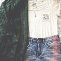 Mystery outfit hipster/grunge/indie- 3 piece outfit- up cycled