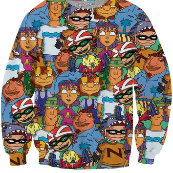 Rocket Power Crewneck Sweatshirt