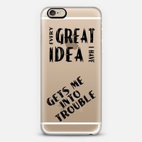 Great Idea iPhone 6 case by Alice Gosling | Casetify